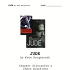 &quot;JUDE&quot; by Kate Morgenroth Comprehensive Questions w/Key