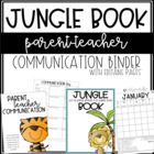 JUNGLE Book Binder {editable version}