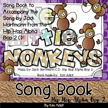 Jack Hartmann Five Little Monkeys Fun Music Book