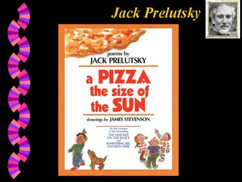 Jack Prelutsky Book Talk... presentation of his books