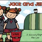 Jack and Jill Nursery Rhyme Set