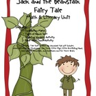 Jack and the Beanstalk Common Core Literacy &amp; Math Unit
