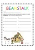 Jack and the Beanstalk Literacy and Math Centers