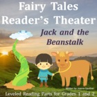 Jack and the Beanstalk: Reader&#039;s Theatre for Grades 1 and 2