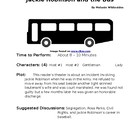 Jackie Robinson and the Bus - Small Group Reader's Theater