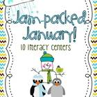 Jam Packed January Literacy Centers