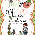 James and the Giant Peach Book Study and Activities Packet