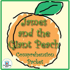 James and the Giant Peach Comprehension Question Packet