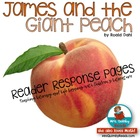James and the Giant Peach-Literature Study Pack- Reading