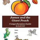 James and the Giant Peach Reading  Activities Super Bundle
