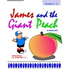 James and the Giant Peach by Roald Dahl: Grades 4-6