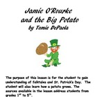 Jamie O'Rourke and the Big Potato by Tomie DePaola UNIT