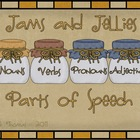 Jams and Jellies Parts of Speech