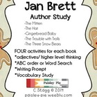 Jan Brett Author Study- 5 days of activities