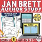Jan Brett Author Study Bundle for 10 Books