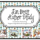 Jan Brett Author Study {FREEBIE}