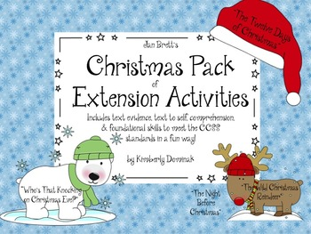 Jan Brett's Christmas pack of Extension Activities