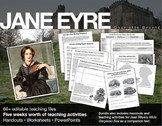 Jane Eyre Handouts, Worksheets, Activities and More! Five