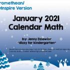 January 2013 Calendar for the Promethean Board