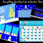 January 1st Grade Calendar for ActivBoard