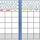 January 2014 Editable/Customizable Curriculum Planning Calendar
