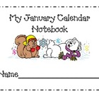 January Calendar Journal Pages