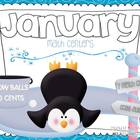 January Centers- Math