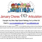 January Chores CH Freebie