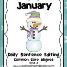 January Daily Sentence Editing
