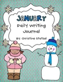 January Daily Writing Journal