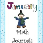 January Everyday Math Journals Powerpoint for the Smartboard