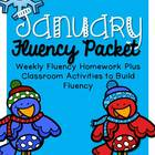 January Fluency Homework Practice Packet