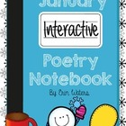 January Interactive Poetry Notebook