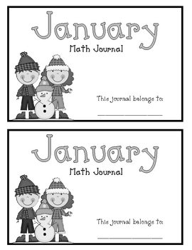 January Math Journals