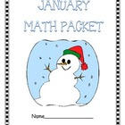 January Math Packet