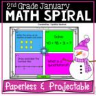 January Math Spiral Review