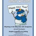 January Rhymes and Analogies with Writing