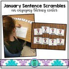 January Sentence Scrambles