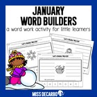 January Word Builders Freebie Pack!