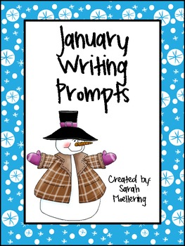 January Writing Prompts (Freebie!)