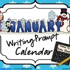 January and Winter Writing Prompt Calendar ~ {Common Core