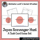 Japan Scavenger Hunt Card Game for Review - Geography, Fac