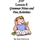 Japanese: Activities and Games for JYP Lesson 8