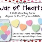 Jar of Hearts {A Math Counting Game}