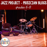 Jazz Project: Musician Blogs