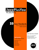 "JazzPlusYou ""The Play-Along"" Book & mp3 Disc"