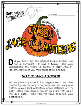 Jazzy Jack-o'-lanterns (Destination Imagination)