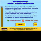 Jectile Game & Materials - Single User License
