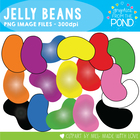Jelly  Beans - Graphics From the Pond