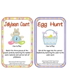 Jellybean Numbers and Egg Hunt Math Literacy Center Easter